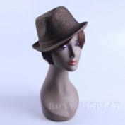 (MZ-NO.13)Realistic Female Mannequin Head, Brown colour