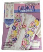 Daisy Kingdom Cardigan Cut Outs C703-1001-005 Garden Memory