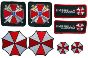 Resident Evil Umbrella Corporation Costume [Set of 8] Patches