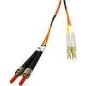CABLES TO GO 5m fibre optic patch cord lc - st multi mode duplex pvc