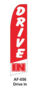 HPP 11-1/2' X 2-1/2' Brand New Advertising Tall Flag- Drive in