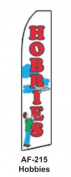 HPP 11-1/2' X 2-1/2' Brand New Advertising Tall Flag- Hobbies