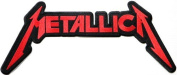 39cm x 16cm 15.5' Jumbo Large METALLICA Rockabilly Rock Punk Music Band Logo Back jacket T-shirt Patch Iron on Embroidered music patch by Tourlesjours