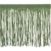 Chainette Fringe P-7044 100-Percent Polyester 10cm Fringe Embellishment, 10-Yard, 25 Jungle
