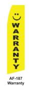 HPP 11-1/2' X 2-1/2' Brand New Advertising Tall Flag- Warranty
