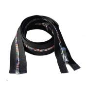 YKK Excella Rainbow Zipper 90cm ~ Separating