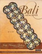 Judy Niemeyer 'Bali Bedrunner' Foundation Paper Piecing Quilt Pattern