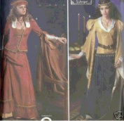 Simplicity 9246 - Renaissance Costume Collection - Size PP, 12-18
