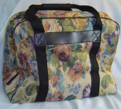 Hemline Sewing Machine Case in Cream Floral