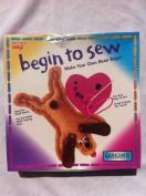 Begin to Sew Kit- Puppy W/heart