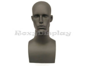 (MD-EraG) Roxy Display Male Mannequin Head Grey colour