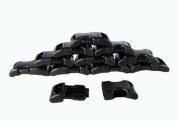 130cm - 2.5cm National Moulding Contoured Plastic Buckles