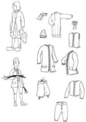 Nouville France Boy's Patterns Circa 1660-1760
