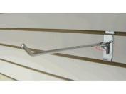RK-SW10C Slatwall Accessories 25cm Hook /50 units Chrome