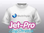 Jet-Pro Soft Stretch Inkjet Heat Transfer Paper 22cm x 28cm