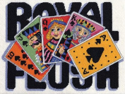 Royal Flush Wool Needlepoint Kit