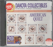 Dakota Collectibles American Quilt Embroidery Design Collection 20 Designs #970134