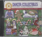 Dakota Collectibles Christmas Cheer Embroidery Design Collection 20 Designs #970101