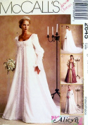 McCall's 2645 Misses Mediaeval Bridal Gown Size D