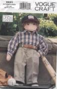 "Vogue Craft Boy Doll ""Little Friend"" Sewing Pattern # 8833"