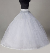 Sunvary Cheap Nylon Ball Gown 8 Tier Long Slip Wedding Petticoats