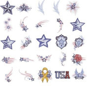 OESD Embroidery Machine Designs CD STARS & STRIPES