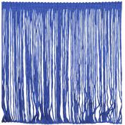 Chainette Fringe P-7045 100-Percent Polyester 15cm Fringe Embellishment, 10-Yard, 04 Royal
