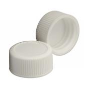 Wheaton 240706-02 White Polypropylene Screw Cap for Glass Diagnostic Bottles, 20-400 Size