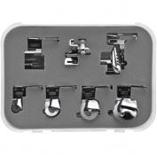 Sew Perfect 7pc. Hemmer/ Binder Presser Foot Set