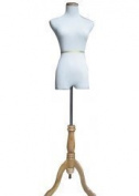 White Female Dress and Slacks Form Size 2-4 90cm 60cm 80cm