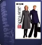 See & Sew B5272 Ladies Babydoll Coat Sewing Pattern