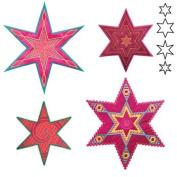 Accuquilt Go 6 Point Star Medley Sarah Vedeler Fabric Cutting Die 55313