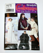 Simplicity 4426 (0578) - Costumes for Kids - Star Wars - Size S, M, L