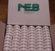 NEB PREWOUND EMBROIDERY BOBBINS STYLE L WHITE QTY 144