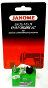 Janome Brush-Out Embroidery Kit