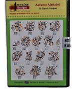 Amazing Designs Autumn Alphabet 30 Classic Designs CD ROM