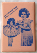 "SHIRLEY TEMPLE ""Star of WEE WILLIE WINKIE A 20th Century-Fox Picture"" Pocket Mirror"