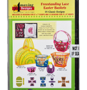 Amazing Designs Freestanding Lace Easter Baskets 35 Classic Designs ADC-243