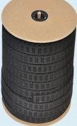 Elastic ~ Non-roll Elastic Width 2.5cm Black By Roll