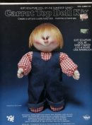 Soft Sculpture Doll Kit-The Gumrop Gang Carrot Top