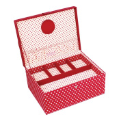 Button It - Large Red Polka Dot Sewing Box
