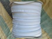 Zipper #4 White 200 Yards + 200 Slides