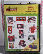 Amazing Designs Coffee Break I Embroidery CD, ADC-54TK