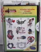 Amazing Designs Victorian Valentine Embroidery CD, ADC-70JTK