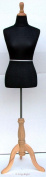 New Black Female Mannequin Dress Form Size 12-14 Large 100cm 100cm 80cm