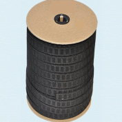 Elastic ~ Non-roll Elastic Width 3.2cm Black By Roll