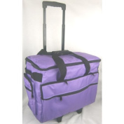 Classy Sewing Machine Trolley in Purple