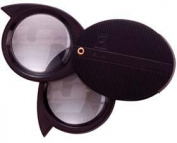 Compass Industries 2622 10X Double Lens Magnifier Loupe - Needed for Geology Kit 2.5cm Black