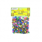Assorted colours sequins - Case of 48