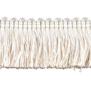 Brushed Fringe Polyester Brushed Fringe, 3.8cm , Beige